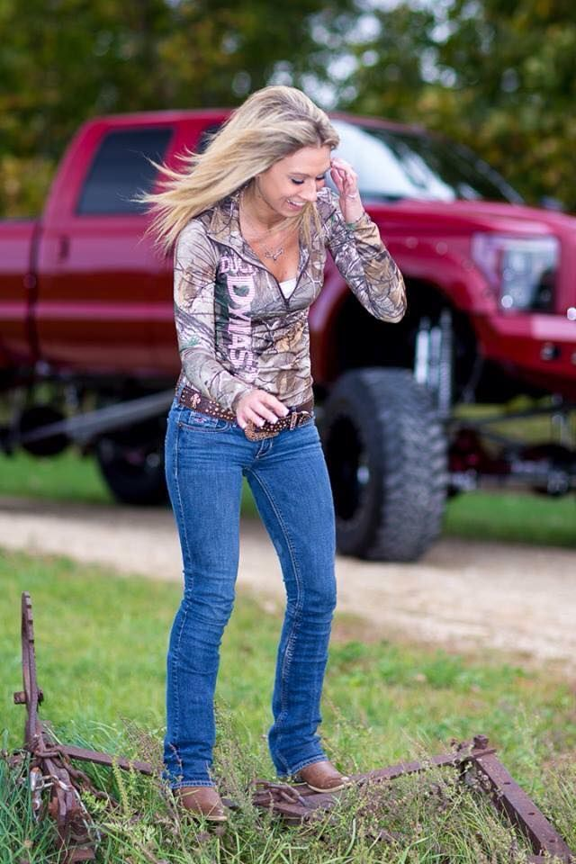 redneck country girls | country country bumpkin redneck girl outfits redneck girls redneck ...