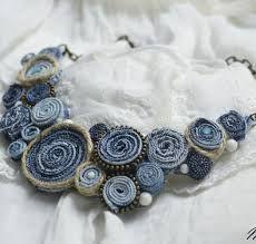 Картинки по запросу шейное украшения из искусственных цветов