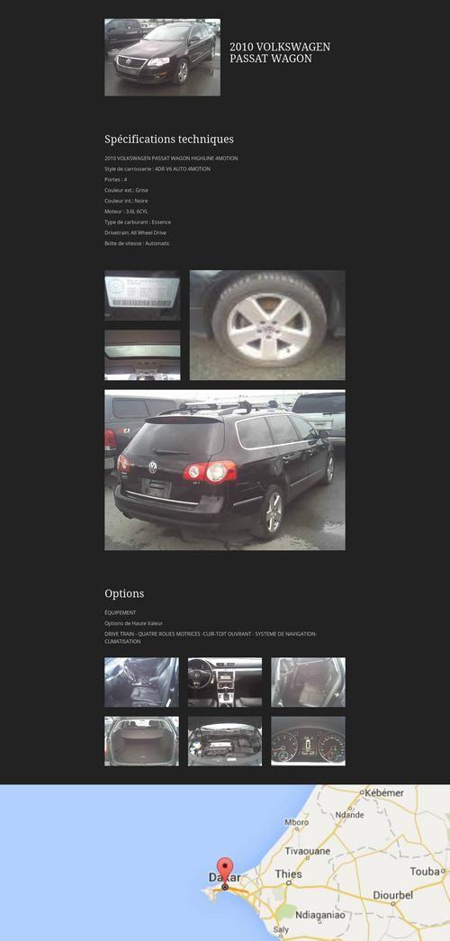 Tylio - VW Passat 2010 #forsale