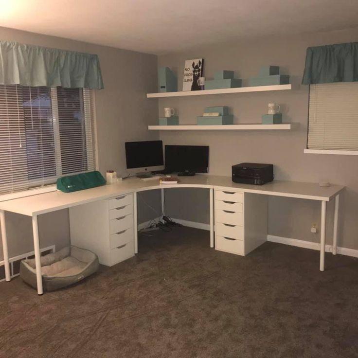 Ikea Craft Room Planner Desk In 2020 Ikea Craft Room Ikea