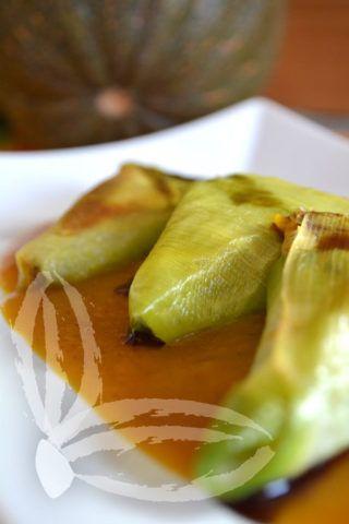 Le delizie di Feli » Blog Archive » Triangolini di porri con salsa alla zucca