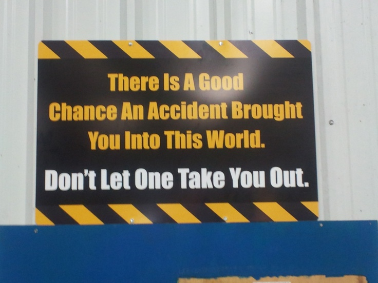 Cool Safety Sign