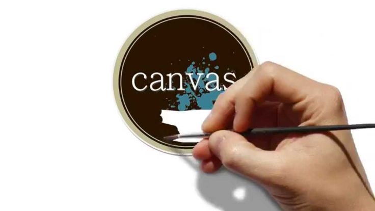 Welcome to canvas - logo video