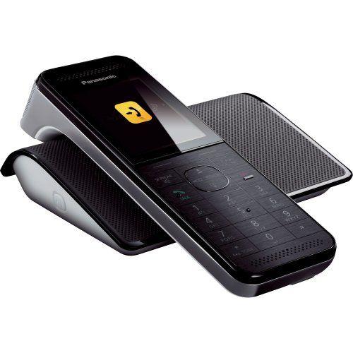 Telefone sem Fio com Wifi e Smartphone Connect  Preto #Panasonic http://www.supergadgets.com.br/telefone-sem-fio-com-wifi-e-smartphone-connect-kxprw110lbw-preto-panasonic #supergadgets #oferta