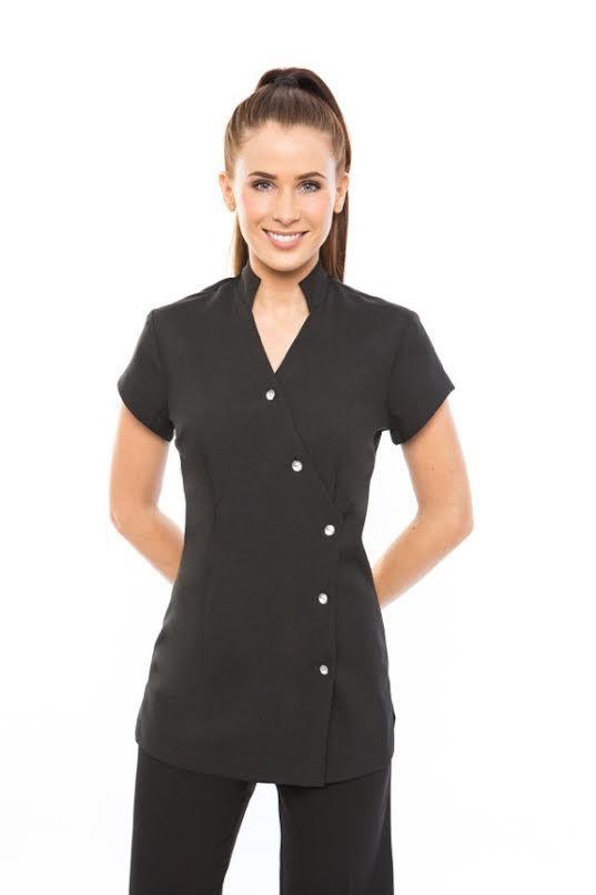 29 best images about spa uniforms on pinterest pants for Spa uniform tunic