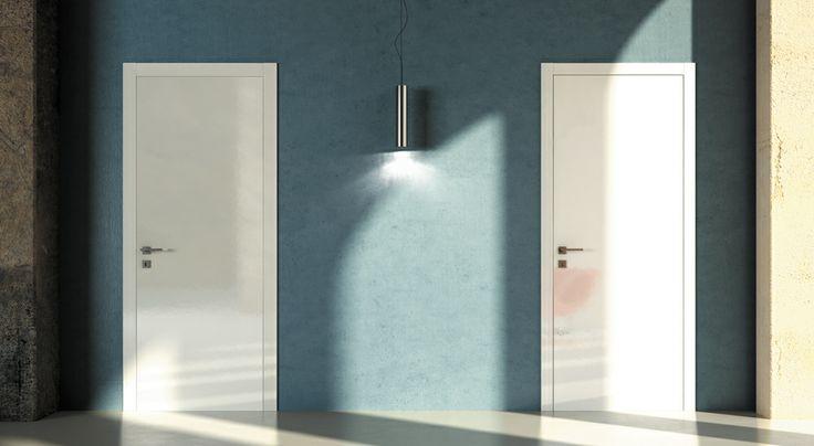 FBP porte | Collezione TINA - Colore: laccata bianca #fbp #porte #legno #laccata #door #wood #varnish