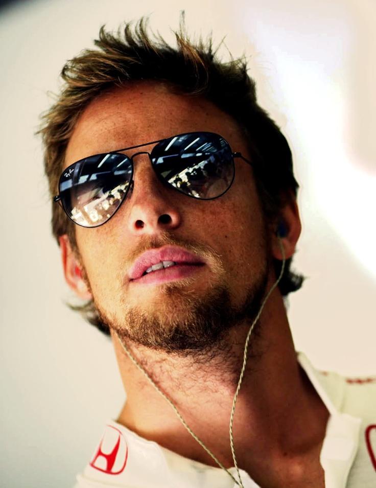 Jenson Button. @Juan Larios Thanks!!! (Still so envious of you.)