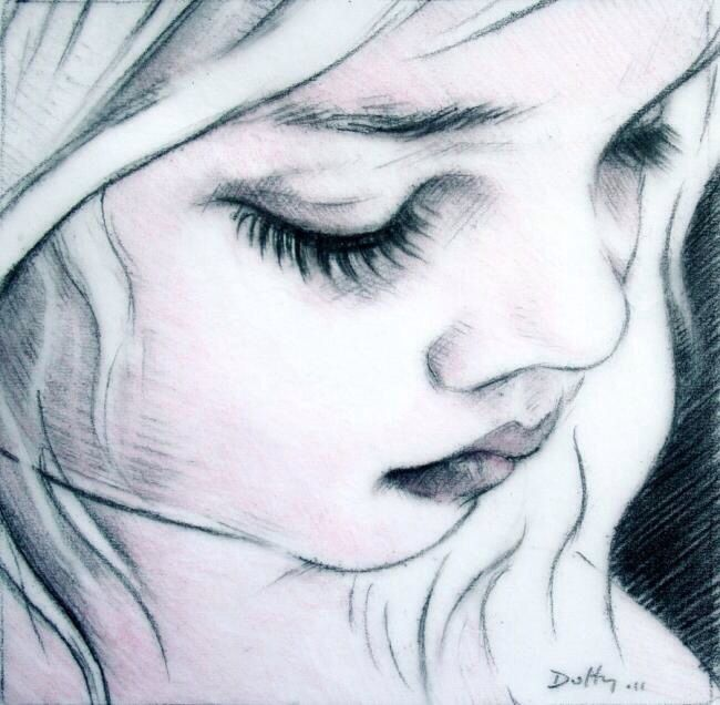 1000 images about sketches on pinterest sketching face for Amazing drawings of girls