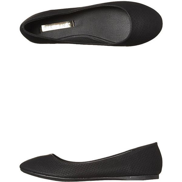 Billini Women's Mika 2 Flat Leather Women's Shoes Black found on Polyvore