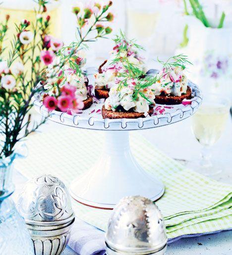 Opdater påskebordet med kolde, varme og søde påskeretter på en ny og spændende måde.