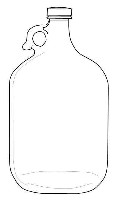 j for jug coloring pages - photo #16