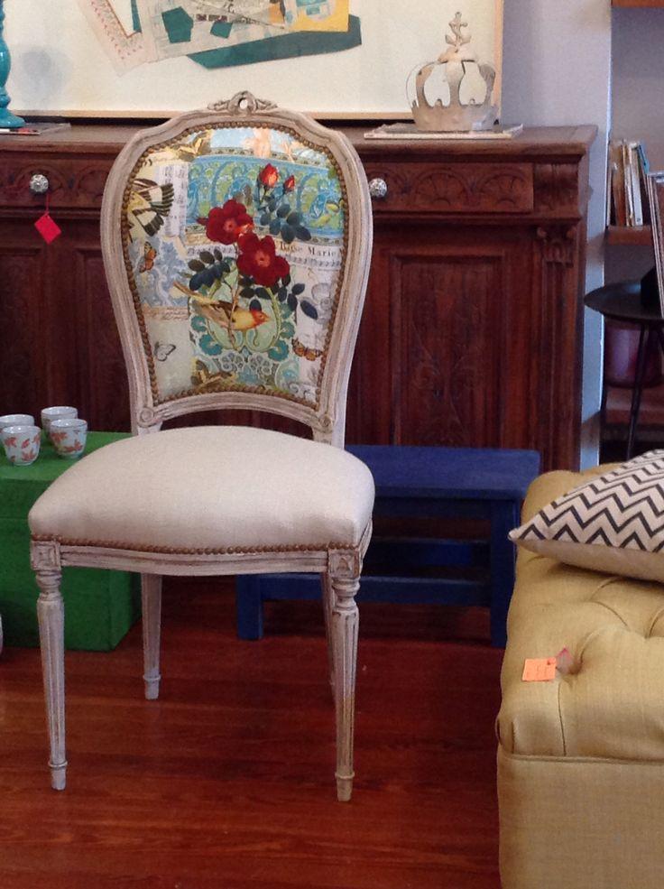 Silla francesa  cadeiras reformadas  Sillas Sillas