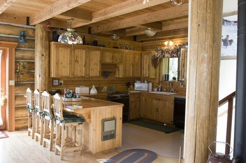 Log Home Interiors (17 Photos) - Bestofhouse.net | 37143