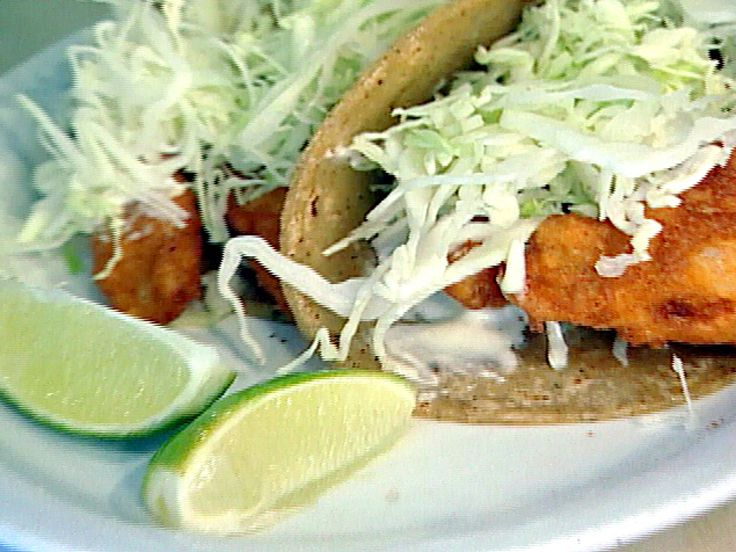 Baja Fish Tacos recipe from $40 a Day via Food Network