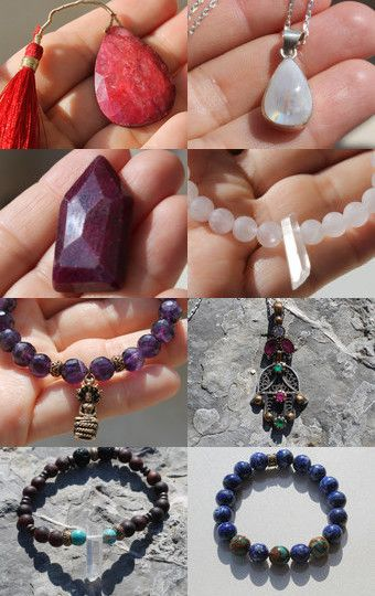 Crystal Jewellery Gifts by Liv Taylor on Etsy--Pinned with TreasuryPin.com
