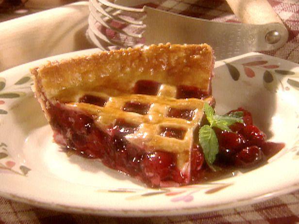 Cherry   Cherry Pie with Lattice Top Recipe : Sandra Lee : Recipes : Food ...
