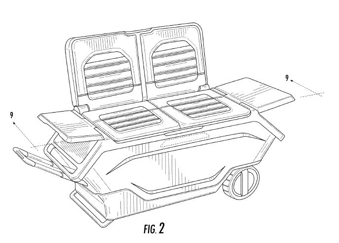 As soon as this is available, I'm getting one! http://www.cantorcolburn.com/news-ESPN-Host-Mike-Golic-Secures-Patent-for-Innovative-Tailgating-Cooler.html