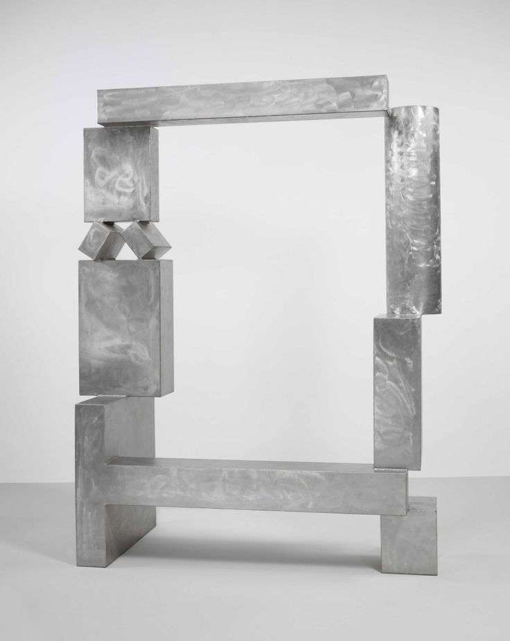 David Smith | Cubi XXVII, March 1965  Stainless steel