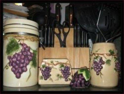 Decorating Ideas > 50 Ways To Create A Grape Theme Kitchen  Gorgeou ~ 155534_Kitchen Decor Ideas Grapes