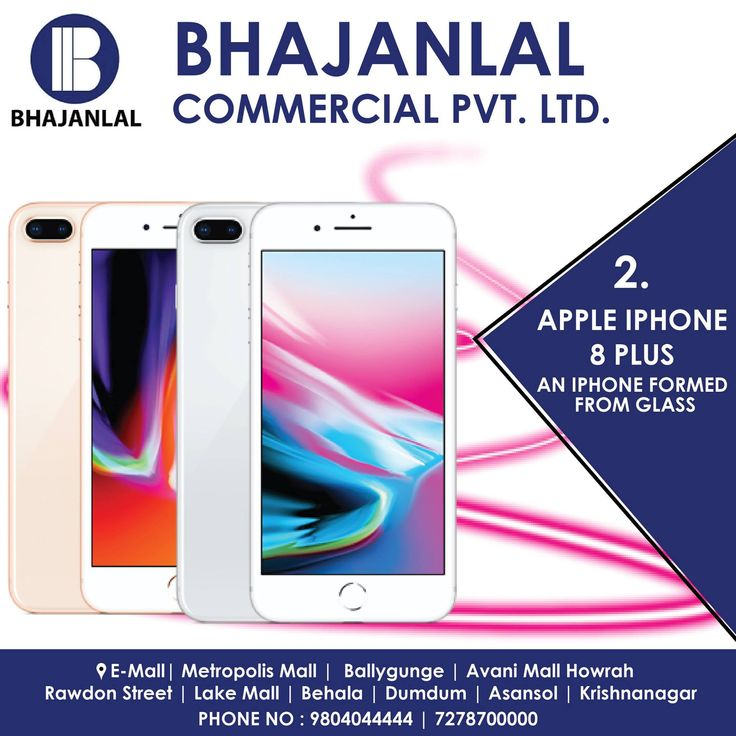 The latest version of the iPhone is not a big update over its predecessor.  The iPhone 8 Plus has one of the best cameras on the market and it's the fastest smartphone you can find today.  It brings all of Apple's newest feature, and if you can afford the steep pricing, it's a good phone to buy.  Get Yours Now at Bhajanlal!