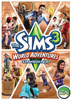 The Sims 3 | World Adventures Expansion Pack CD Version Please