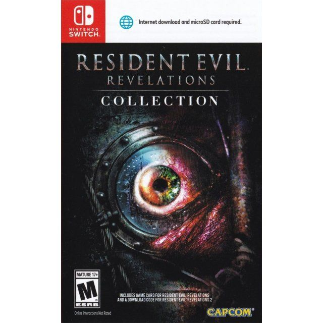 Resident Evil Revelations Collection Resident Evil Evil Video Game Collection