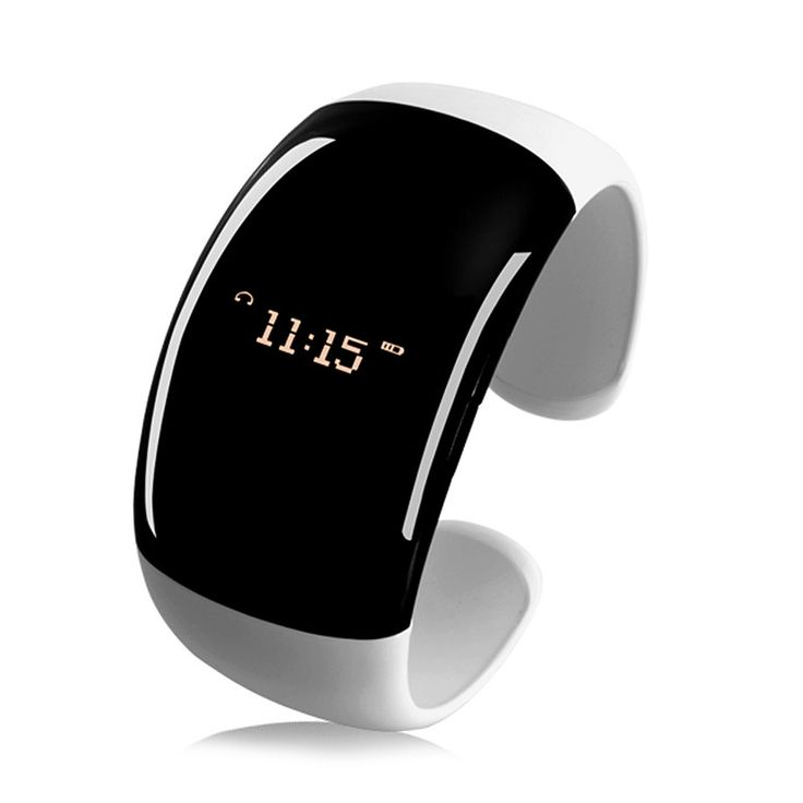 Bluetooth Bracelet Watch - Time Display, Distance Vibration, Answer, Call Vibration, Caller ID Display