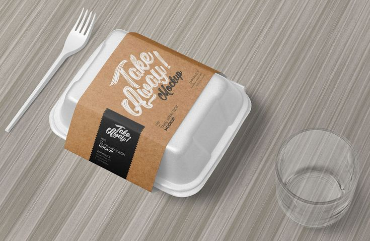 Free Disposable Food Packaging Mockup Free Package Mockups Food Packaging Packaging Mockup Plastic Food Containers
