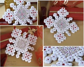 Humming Needles - Hardanger Snowflakes