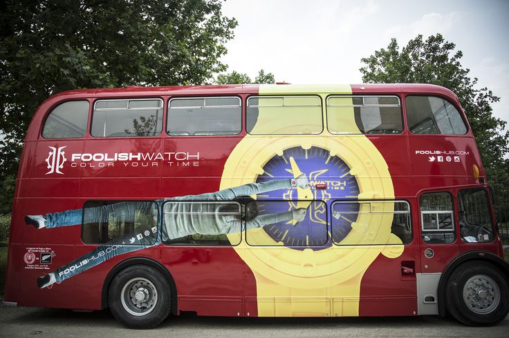 Go up our #FoolishBUS and take a Picture!