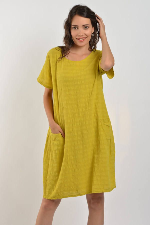9ce04f7b91 Géz ruha | linen | Dresses with sleeves, Dresses, Shirt dress