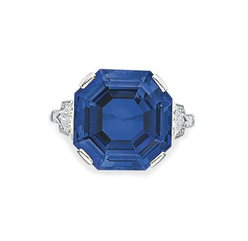 Bague Bulgari saphir bleu Christie's New York 3 | Vogue