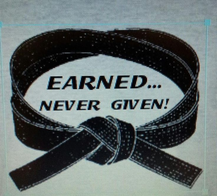 In these days of affirmative action, it's good to know there are some things that have to truly be earned.