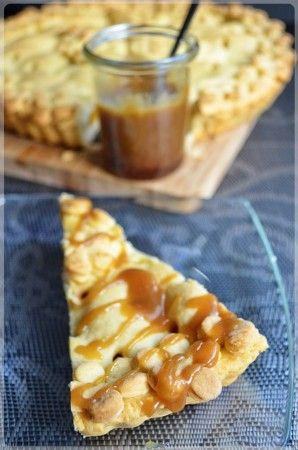 Tarta z karmelizowanymi morelami