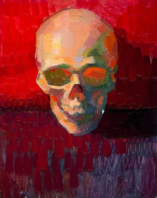 Aaron Westerberg - Skull Study