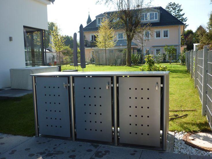 Mülltonnenbox Edelstahl - nicht nur schön anzusehen auch praktisch Eine Mülltonnenbox vor Ihrem Haus verschönert nicht nur das Gesamtbild Ihres Anwesens sondern kann auch eine sehr praktische Anschaffung sein. Mit beispielsweise einem...