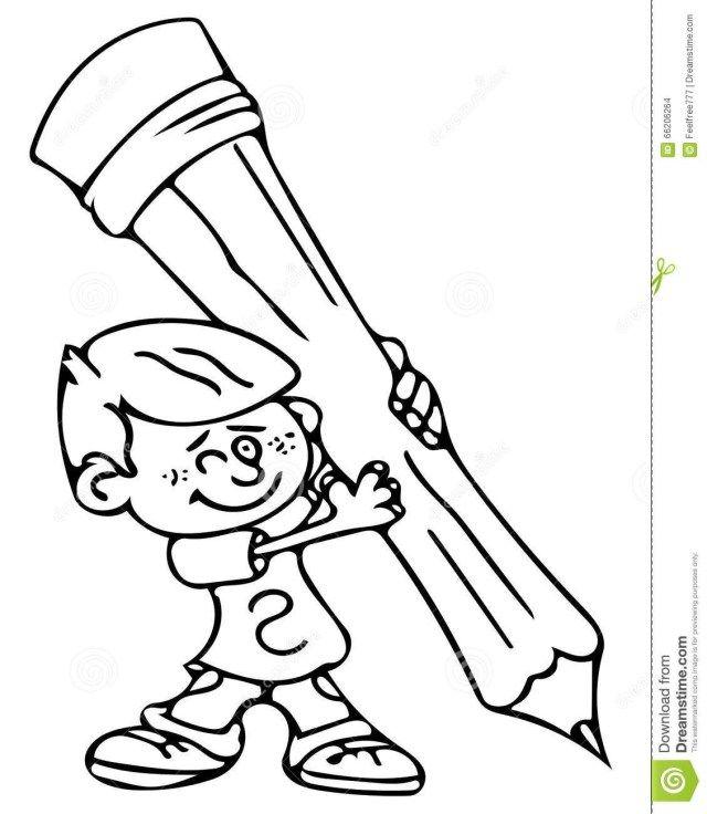- Amazing Picture Of Pencil Coloring Page - Entitlementtrap.com  Kindergarten Colors, Coloring Pages, School Humor