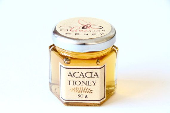 ACACIA honey 1.8oz/50gr//Slovenian by AliasTasteOfNature on Etsy