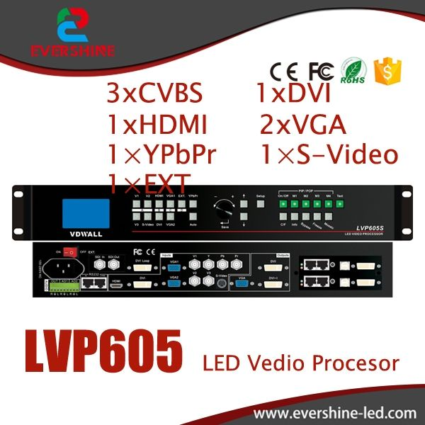 680.00$  Buy now - http://ali86j.worldwells.pw/go.php?t=32752698941 - VDWALL LVP605 Large LED Screen Video Wall Processor with VGA/DVI/HDMI