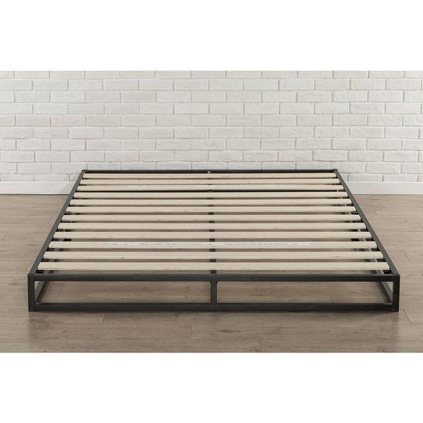 priage 6 inch queen size metal platform bed frame - Bed Frames Platform