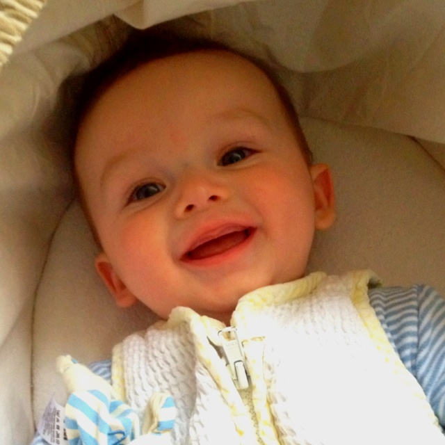 The happiest boy I know