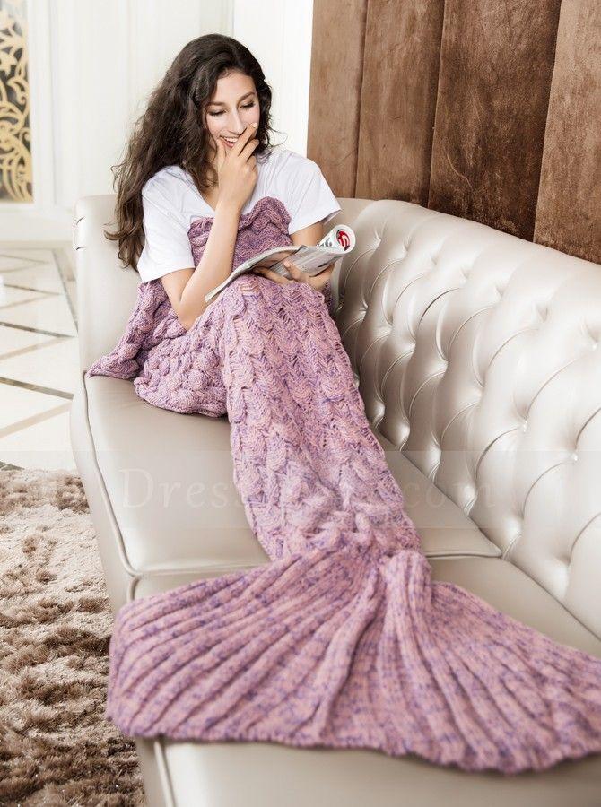 29 best Knitted Mermaid Blanket images on Pinterest | Mermaid ...