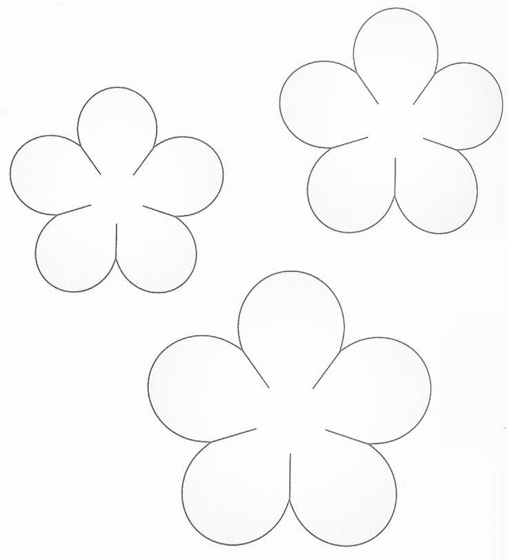 Цветы для открыток вырезать