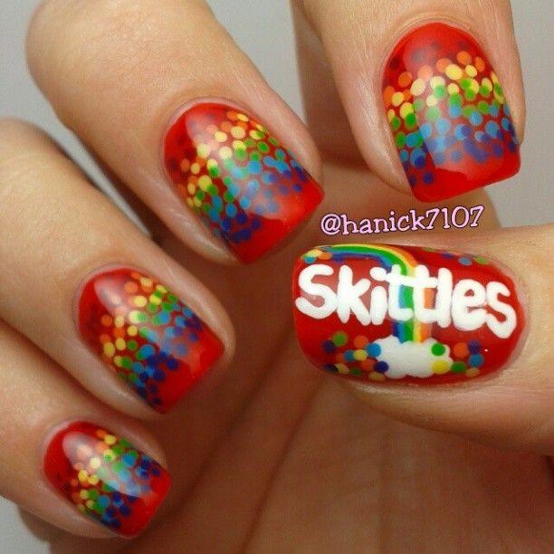 skittles by hanick7107  #nail #nails #nailart