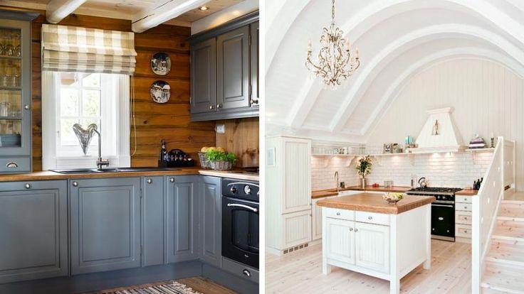 Fortsatt hvite kjøkken | Hyttemagasinet