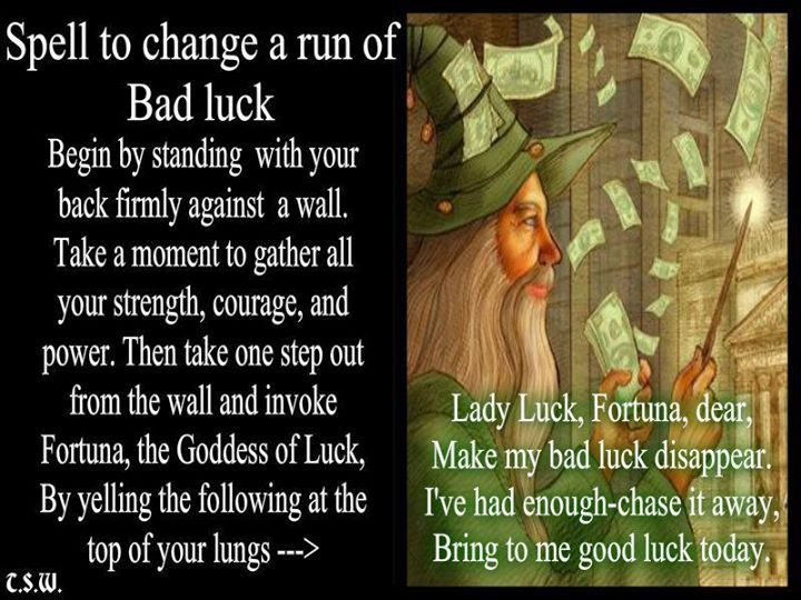 Fortuna invocation for good luck