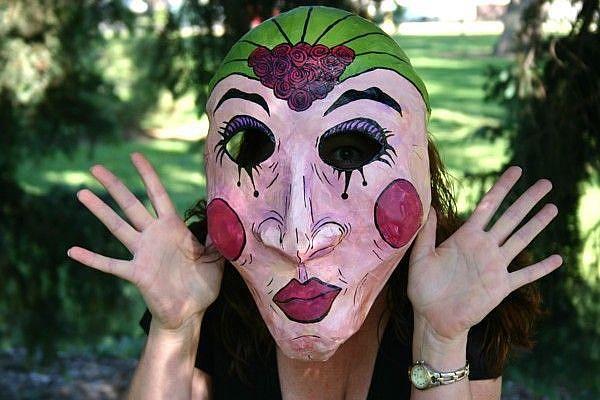 www.ebsqart.com Art Masks Mixed-Acrylic-Paper-Plastic-Headgear 172455 650 650 Fortune-Teller.jpg
