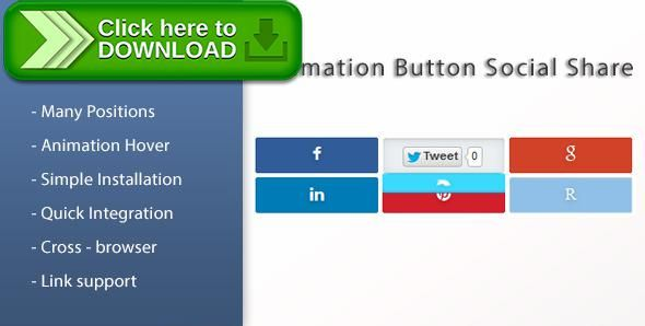 [ThemeForest]Free nulled download Animation Social Button Share for Prestashop from http://zippyfile.download/f.php?id=38347 Tags: ecommerce, prestashop facebook share, prestashop google share, prestashop likedin share, prestashop pinterest share, prestashop reddit share, prestashop share button, prestashop social share, prestashop twitter share, share module prestashop, share plugin prestashop, social media plugins, social media share