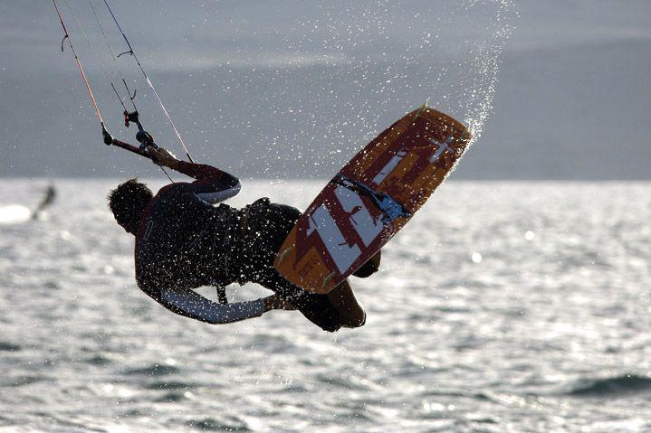 Paros is a kitesurfing spot