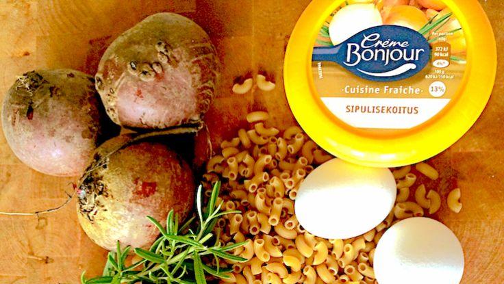 Blogissa kerrotaan kuinka voit paeta pimeyttä pastan voimalla #cremebonjoursuomi #tuorejuusto #pasta www.cremebonjour.fi